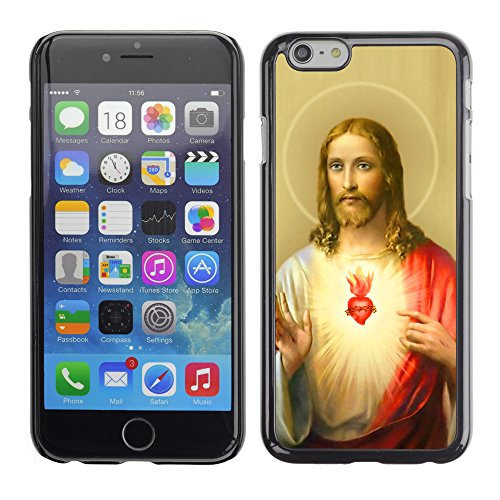 Graphic4You Jesus Christian Design Harte Hülle Case Tasche Schutzhülle für Apple iPhone 6 / 6S Design #3