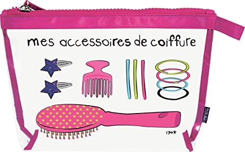 Incidence Paris Krystal mes Accessoires de Coiffure L, 24 cm, Rose