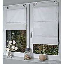 Estor de/Ojales de estor Kessy de colour blanco de 45/60/80/100 * 142 cm, aluminio, blanco, ca. 45 x 142 cm
