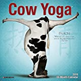 #7: Cow Yoga Mini 2019 Wall Calendar