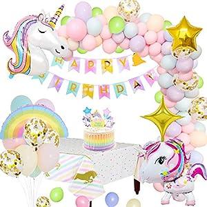 MMTX Unicornio Decoraciones Cumpleaños de