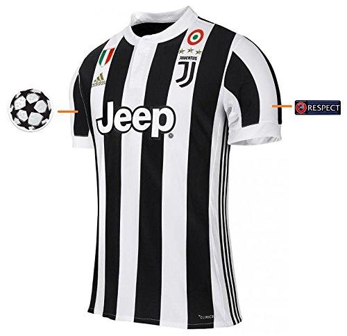 Trikot Herren Juventus Turin 2017-2018 Home UCL (L)