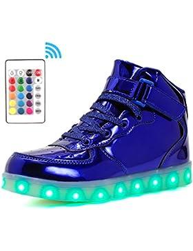 [Sponsorizzato]Voovix Bambini LED Lampeggiante Scarpe con Telecomando per Ragazzi e Ragazze