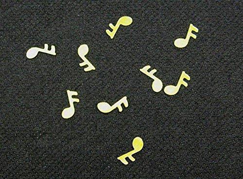 Discount Hochzeit–Sachet Cavalier Tisch-Konfetti Note Musik-Gold