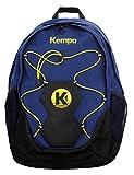 Kempa Rucksack mit Ballnetz für Handball, Fußball, Volleyball, Basketball + Trinkflasche
