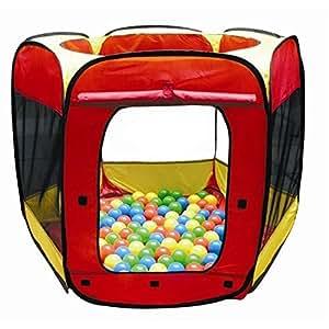 Paradiso Toys NV - A1203934 - Jeu de Plein Air et Sport - Tente de jeux + 100 balles