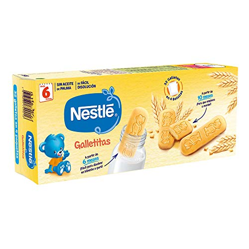 Nestlé Galletitas para bebés desde 6 meses - 12 paquetes de 180...