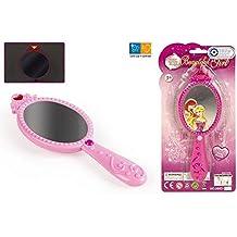 Color Baby - Espejo mágico de princesa con luz y sonido, 20 cm (37360)