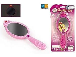 ColorBaby - Espejo mágico de Princesa con luz y Sonido, 20 cm (37360)
