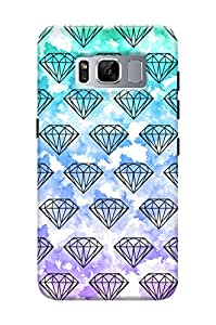 KanvasCases Samsung Galaxy S8 Printed Back Cover case