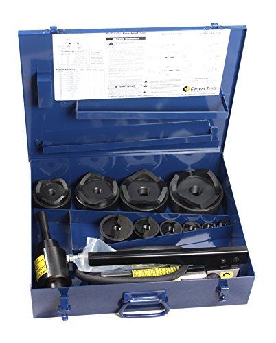 Aktuelle Werkzeug 154pm 1/2Zoll bis 4-Zoll Stück Maker Hydraulische Knockout Set