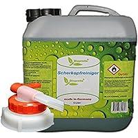 Biopretta Scherkopfreiniger 5000ml Nachfüllflüssigkeit für Reinigungskartuschen mit Ablasshahn.