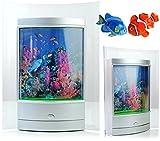 Aquarium Lampe mit Rahmen und LED Licht