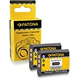 2x Batterie Nikon EN-EL11 | Olympus Li-60B | Pentax D-Li78 pour Nikon Coolpix S550 | S560 | S600 | Olympus C-575 | FE-370 | X-880 | Pentax Optio M50 | M60 | S1 | V20 | W60 | W80 | Ricoh R50 | Sanyo Xacti VPC-E10 | VPC-E875