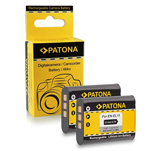 2x Akku / Batterie wie Nikon Coolpix S550 | S560 | S600 | Olympus C-575 | FE-370 | X-880 | Pentax Optio M50 | M60 | S1 | V20 | W60 | W80 | Ricoh R50 | Sanyo Xacti Nikon, Sanyo Xacti
