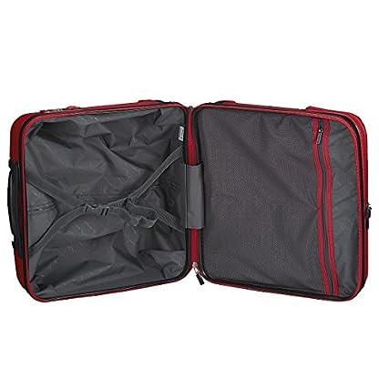 51fHipuUHIL. SS416  - Hedgren HFO06W / 779-01 Fórmula Uno maleta, 42 cm, 38 litros, Negro / combo Red