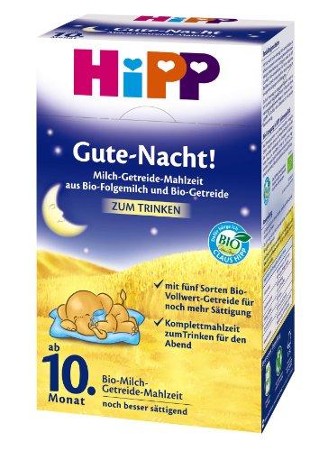 500g Trinken (Gute-Nacht! Milch-Getreide-Mahlzeit Bio, 4er Pack (4 x 500 g Packung) - Bio)