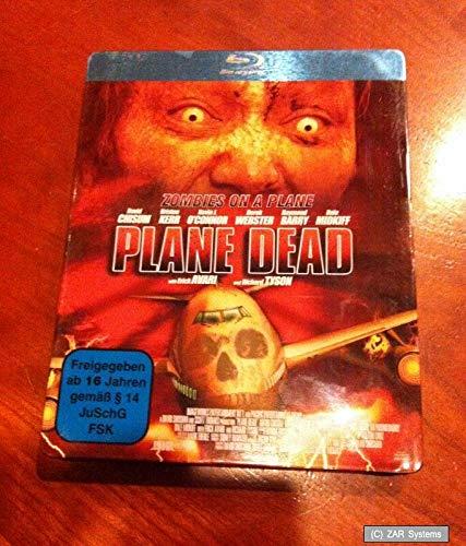 PLANE DEAD Bluray Blu-Ray, Horror, Metall-Box perfekt für Halloween, Horror Film