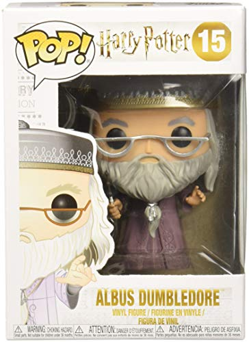Funko - POP! Vinilo Colección Harry Potter - Figura Albus Dumbledore (5891) 1