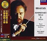 Brahms:Symphony No.3/4