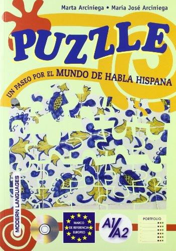 Puzzle. Un paseo por el mundo de habla Hispana. Per la Scuola media. Con espansione online