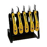 Bernstein Werkzeug GmbH 3-650 V CLASSICline Zangen-Set, 5-teilig aufgereiht auf ESD Werkzeughalter VARIO Art.-Nr. 5-090-0