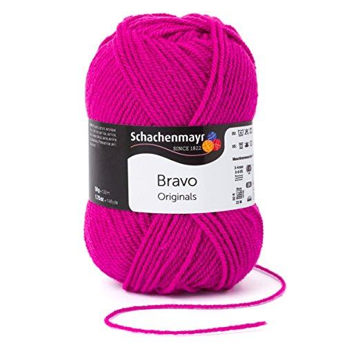 Schachenmayr Bravo 9801211-08350 rosa Handstrickgarn, Häkelgarn