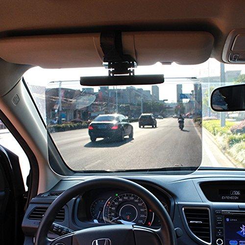 CAR SHUN Auto Visione Grande Parasole Antiriflesso Specchio Conducente Oculare Antiriflesso Occhialini Da Viaggio Auto Visiera Parasole Specchio Cieco