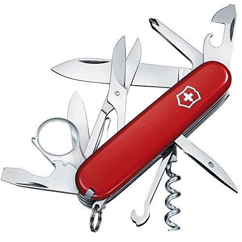 Victorinox 1.6703.B1 Couteau d'officier Rouge Sous grand blister