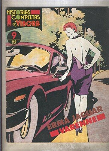 Historias completas de El Vibora numero 09: Erma Jaguar (numerado 1 en trasera)