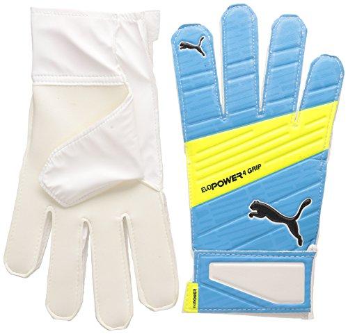 PUMA Torwarthandschuhe Evopower Grip 4.3 Atomic Blue/Safety Yellow/Black, 4 -