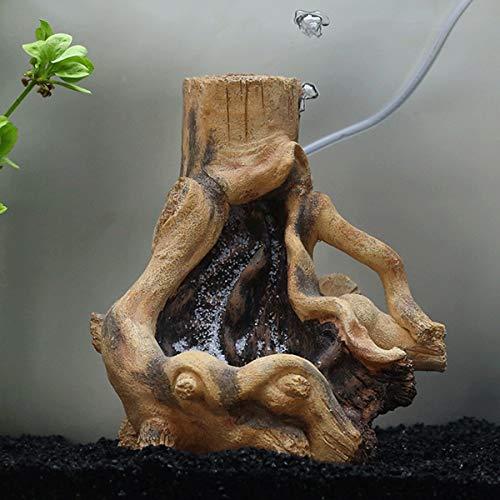 Uotyle EINWEG Kunstharz Stilvolle Treibholz Aquarium Fisch Tank Terrarium Tree Root Pflanze Holz Dekor Quick Sand Landschaft Ornament -