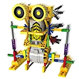 #7: Motorial Alien Robot LOZ Robotic Building Set Block Toy Battery Motor Operated 3D Puzzle Design Alien Primate Robot Figure for kids and adults Sturdy Enough 122 parts Armor Kangaroo