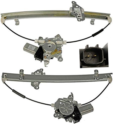 apdty-852459-power-window-motor-regulator-assembly-fits-front-left-2005-2015-nissan-frontier-or-xter
