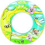 Bestway Designer Swim Ring, Multi Color (22-inch)