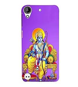 FUSON Prabhu Ram Giving Blessings 3D Hard Polycarbonate Designer Back Case Cover for HTC Desire 530