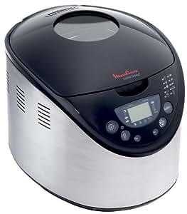 Machine à Pain - Home Bread - Capacité 1Kg - 43progr. - 650W - Inox