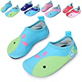 L-RUN Mutifunctional Barefoot Water Shoes for Swimming,Running,Surfing,Yoga Exercises Light Blue