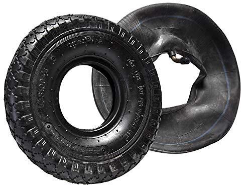2 Stück Reifen Stollenprofil + Schlauch 260 x 85 mm 3.00-4