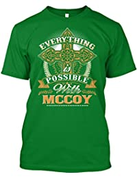 teespring Novelty Slogan T-Shirt - Everything Possible With McCoy