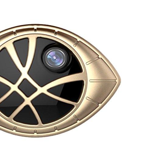 Dolity-Cmara-CCTV-de-IR-DVR-de-8GB-Seguridad-Inalmbrico-Fcil-de-Instalar-en-Casa-Oficina-oro-como-se-describe