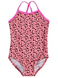 Name it Mädchen Badeanzug ZUMMER KIDS SWIMSUIT 13124355 salmon rose Gr. 110/116