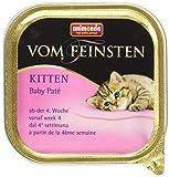 Animonda Vom Feinsten Kitten Baby Paté Nassfutter, für junge Katzen, 32 x 100 g