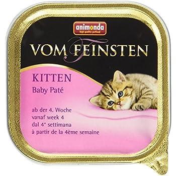 Animonda vom Feinsten Katzenfutter Kitten Baby Paté, 32 x 100g