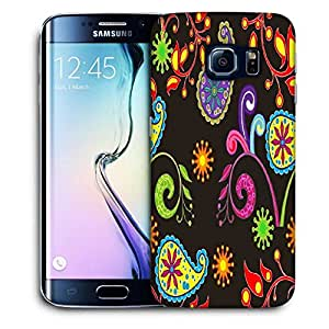 Snoogg Abstract Dark Pattern Printed Protective Phone Back Case Cover For Samsung Galaxy S6 EDGE / S IIIIII