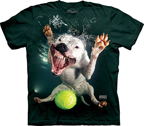 The Mountain Adult Underwater Dog Grace Seth Casteel T Shirt Grün
