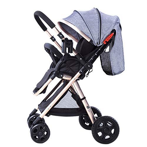 Baby carriage High View Zwei-Wege-Sportkinderwagen Leichtklapp Four Wheel Jogger Reisen Buggy-System Infant Kinderwagen - 50 x 41 x 108 cm