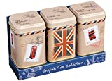 Englisch Tee Collection?Mini Dose Triple Pack, Traditionelle Tee in Travel Collection Mini Dosen