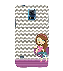 Best Ever Mom Maa 3D Hard Polycarbonate Designer Back Case Cover for Samsung Galaxy S5 Mini :: Samsung Galaxy S5 Mini G800F