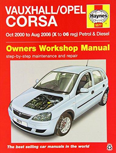 vauxhall-opel-corsa-service-and-repair-manual-2000-2006-haynes-service-and-repair-manuals